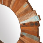 Indian Sun Reclaimed Mirror 36""