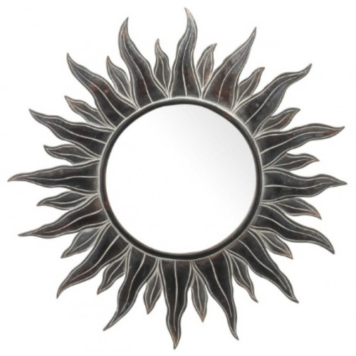 Apollo Antiqued Sun Mirror 38 Inch