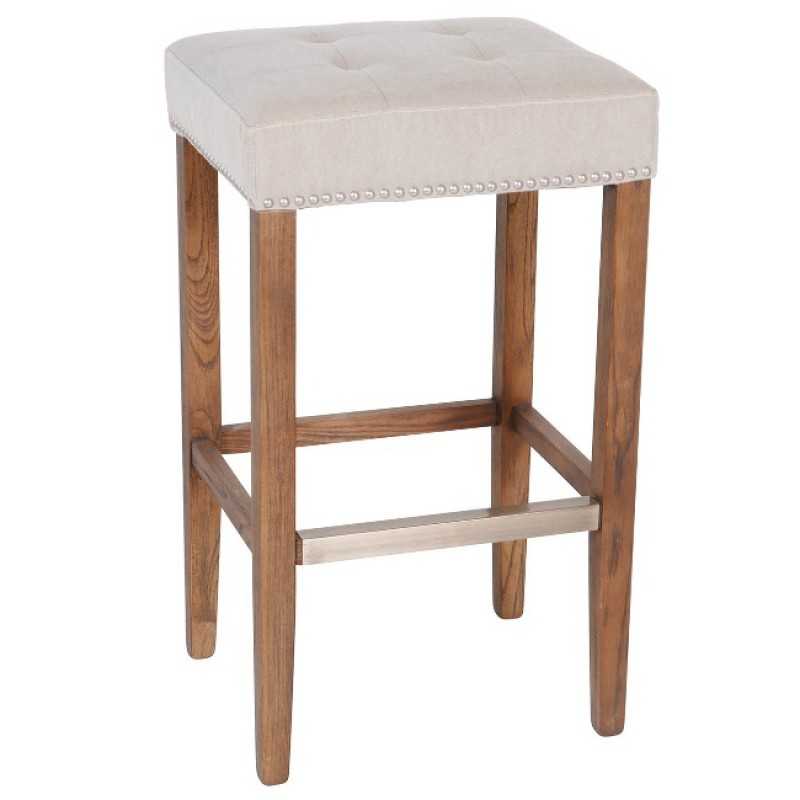Surprising Nashville Premium Counter Stool Nailhead Beige 30 With Kickplate Caraccident5 Cool Chair Designs And Ideas Caraccident5Info