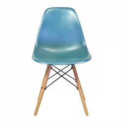 Eames Style Side Chair, Teal