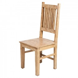 Mission Wood Ladder Backed Dining Chair