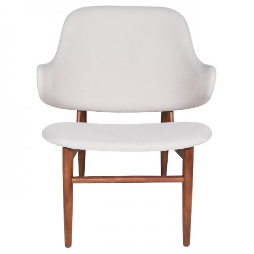 Cameo Curve Lounge Chair, Beige