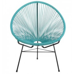 Acapulco Lounge Chair, Blue