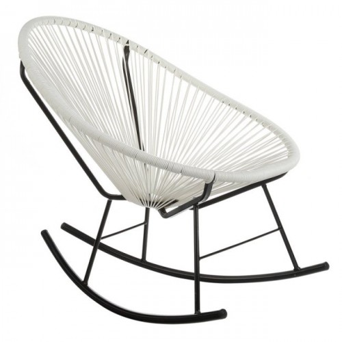Acapulco Rocking Chair, White