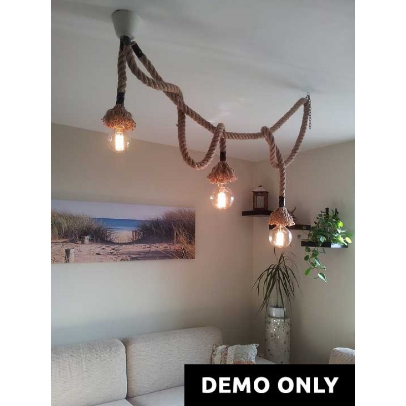 Hanging rope lights seastarboutique new hanging rope lights mozeypictures Choice Image
